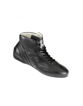 CARRERA LOW BOOTS PELLE NERA