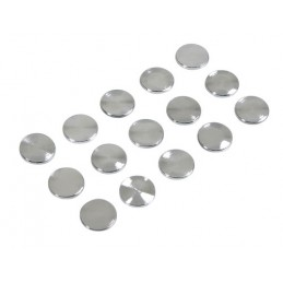 LAM-07213 - Decor-Studs  borchie cromate 15 pz -    14 mm