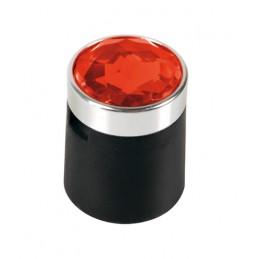 Colour Crystal  20 copribulloni -   17 mm - Rosso