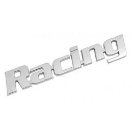 Emblema 3D cromato - Racing