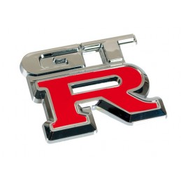 Emblema 3D cromato bicolore - GTR