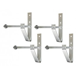 Wheel-Holder  set 4 staffe porta-ruote