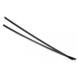 Tergix - 71 cm - senza rotaia - 6 5 mm - 2 pz