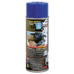 Vernice spray per interni in pelle - Blu
