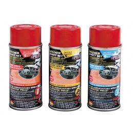 Kit vernice spray effetto pelle - Rosso