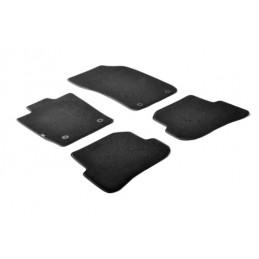 Set tappeti su misura in moquette - Nero -  Audi A1 3p (09 10 10 18) -  Audi A1 Sportback 5p (02 12 10 18)