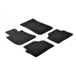 Set tappeti su misura in moquette - Nero -  Bmw Serie 3 (E90) 4p (03 05 01 12) -  Bmw Serie 3 Touring (E91) (09 05 05 12)