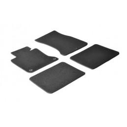 Set tappeti su misura in moquette - Nero -  Bmw Serie 7 (E65) (E66) (11 01 09 08)
