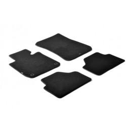Set tappeti su misura in moquette - Nero -  Bmw X1 (E84) (10 09 10 15)