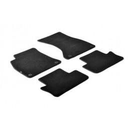 Set tappeti su misura in moquette - Nero -  Audi A4 4p (01 01 10 07) -  Audi A4 Cabrio (05 02 03 08) -  Seat Exeo 4p (05 09 12 1