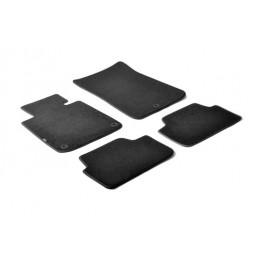 Set tappeti su misura in moquette - Nero -  Bmw Serie 1 (E81) 3p (03 07 06 12) -  Bmw Serie 1 (E87) 5p (09 04 08 11) -  Bmw Seri