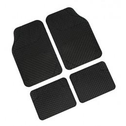 Drena 4  serie tappeti universali 4 pezzi - Nero