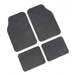 Drena 4  serie tappeti universali 4 pezzi - Grigio