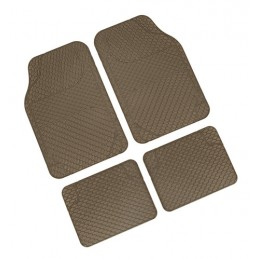 Drena 4  serie tappeti universali 4 pezzi - Beige