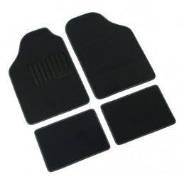 Supra  serie tappeti 4 pezzi - B - Nero