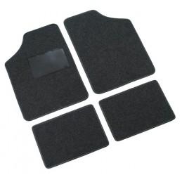 Supra  serie tappeti 4 pezzi - A - Antracite