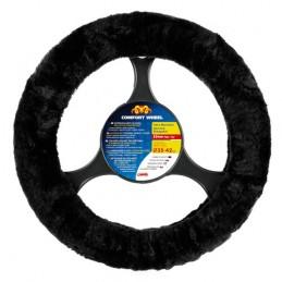 Comfort Wheel  coprivolante elasticizzato - Nero -   36-42 cm