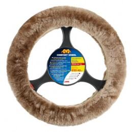 Comfort Wheel  coprivolante elasticizzato - Naturale -   36-42 cm