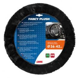 Fancy Plush  coprivolante elasticizzato - Nero -   36-42 cm