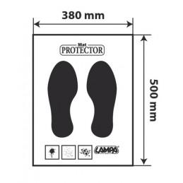 Protezione moquette in carta  dispenser 200 pz