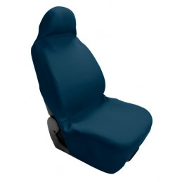 Quick Cover  coprisedile elasticizzato anteriore - Blu