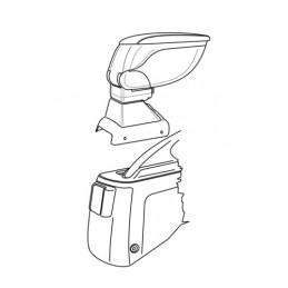 Attacco bracciolo -  Honda Civic 4p (01 01 04 06)