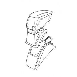Attacco bracciolo -  Renault Megane II 3p (10 02 10 08) -  Renault Megane II 4p (10 03 10 08) -  Renault Megane II 5p (10 02 10