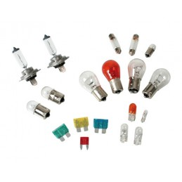 Kit lampade di ricambio 19 pz  alogena 2x H7 - 12V