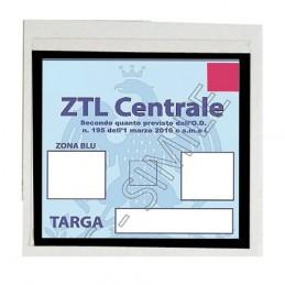 Basic  porta certificato adesivo