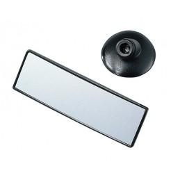 Specchietto retrovisore convesso rettangolare con ventosa - 140x45 mm