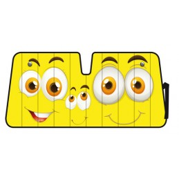 Scudo termico per parabrezza - 68x147 cm - Smiles