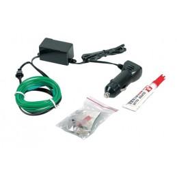 EL String-Light 12V - 200 cm - Verde