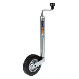 Servotimone per rimorchi e roulotte  ruota piena   200 mm