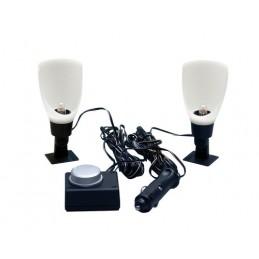 Moon-Lite  coppia lampade per abitacolo  12V