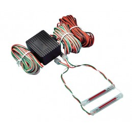 Safety Car Strobo Lights II Serie  12V - Rosso