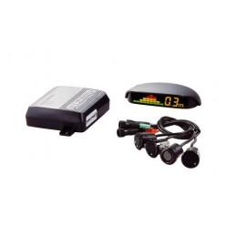 PTS400Q4  kit 4 sensori parcheggio con display wireless per specchio retrovisore  12V
