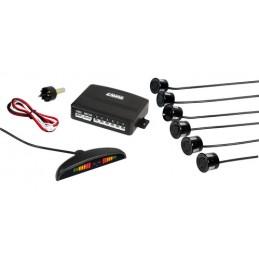 Setay S6  kit 6 sensori parcheggio con display digitale  12V