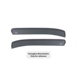 Set deflettori aria posteriori ad incastro - Mitsubishi L200 Double Cab 4p (01 05 08 15)