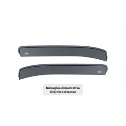 Set deflettori aria anteriori ad incastro  tipo corto - Opel Vivaro (van) (08 01 12 13)