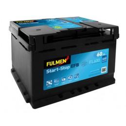 Batteria 12V - Fulmen Start-Stop EFB - 60 Ah - 640 A