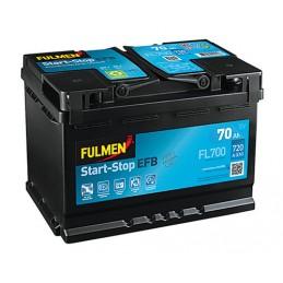 Batteria 12V - Fulmen Start-Stop EFB - 70 Ah - 720 A
