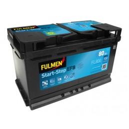 Batteria 12V - Fulmen Start-Stop EFB - 80 Ah - 720 A
