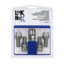 Bulloni piatti con rondella  kit 4 pz - Lok Nox - D010-D020