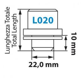 Dadi piatti  kit 4 pz - Original - L020