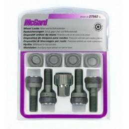 Bulloni con rondella conica  kit 4 pz - Ultra High Security - C010