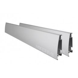 Kargo Rack System - Coppia fianchetti h 12 cm - 180 cm