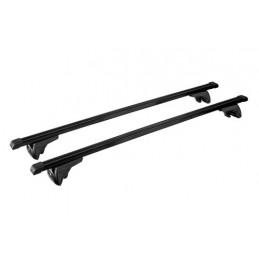 In-Rail Steel  coppia barre portatutto in acciaio - M - 120 cm