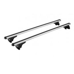 In-Rail Alu  coppia barre portatutto in alluminio - M - 120 cm