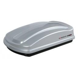 Box 330  box tetto in ABS  330 litri - Argento lucido
