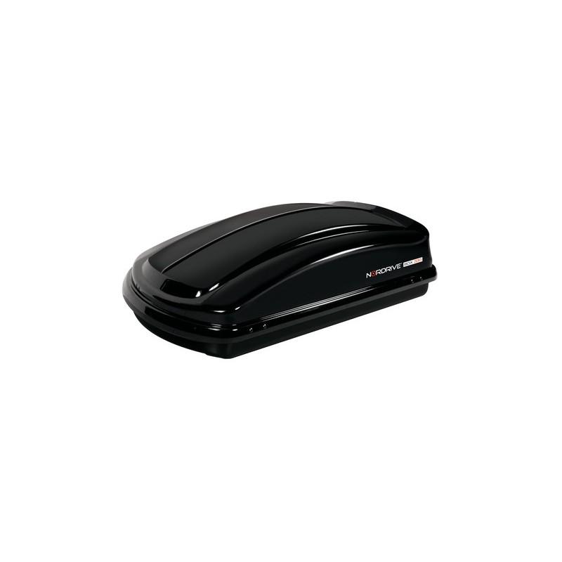 Box 330  box tetto in ABS  330 litri - Nero lucido